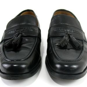 Johnston & Murphy Leather Tassel Loafers Sz 9M